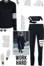 How to wear a Co-Ord 4 Bar Activewear Set!
