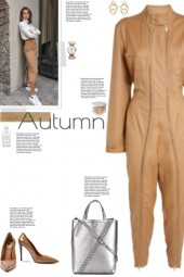 How to wear a Utilitarian Style Boiler Jumpsuit!