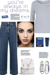 How to wear an All-Over Stripe T-Shirt!