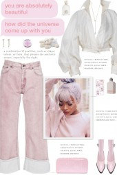 How to wear Worn Effect Mid Rise Jeans!