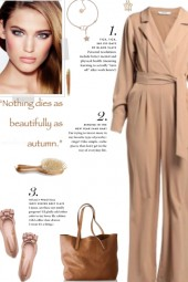 How to wear a Twill Belted Solid Color Jumpsuit!