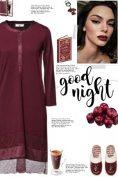 How to wear a Lace Detailed Jersey Nightdress!