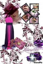 Purple ilusion