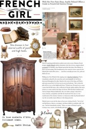 french girl home styled