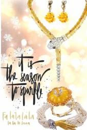 tis the season 2 sparkle fa la la....