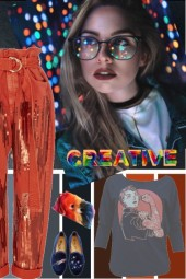 CREATIVE FUN GRAPHIC TEXTERS N COLORS