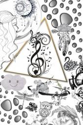 black n white tone