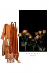 Le Bonheur de Couleur Orange
