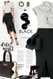 Date Night in Black & White