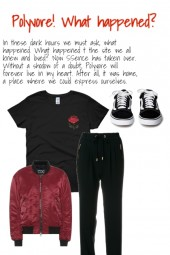 Polyvore! What happened?