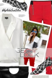 Get the Look: Red & White