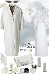 TREND ME FAVORITES IN WHITE