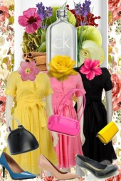 CALVIN KLEIN: THREE LITTLE DRESSES