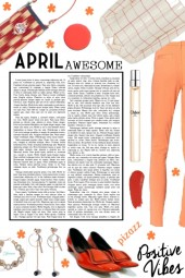 BEING AWESOME IN APRIL