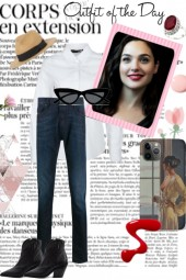 WHITE SHIRT AND JEANS : TREND ME'S UNCATEGORIZED