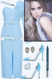 BLUE IN SPRING