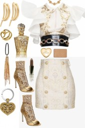 , WHITE AND GOLD ,