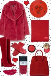 ~ RED IN WINTER !