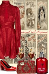 ~ CASUAL RED ELEGANCE ~ 12232020