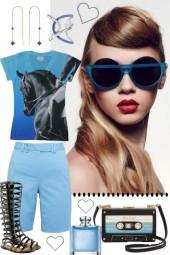 ~ S U M M E R ~ *** BLUE AND BLACK