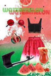 watermelon & summer