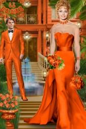 Набор. Милен. Оранжевый. Вечер00003
