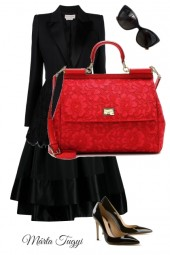 ... just a red bag ....
