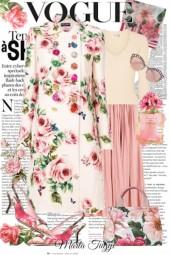 D&G floral Coat