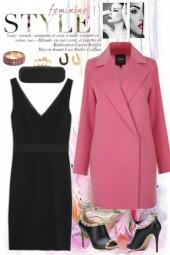 LBD & Carnation Pink Coat