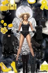 Women in black, with a twist