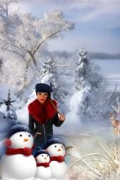 Snowmen & their Lady