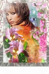 Among flowers 2