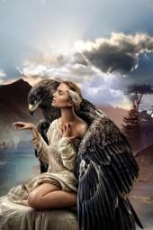 The eagle rock