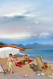 Southern sea beach