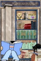 A bibliophile