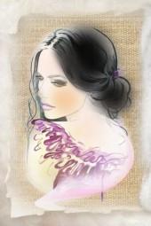 A sketch of a portrait