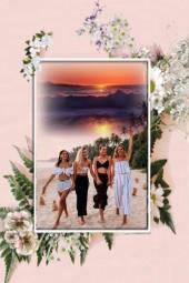 The four on the beach