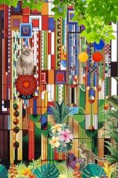 Colourful labyrinth