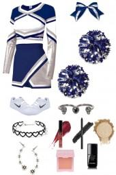 Lilith Porter, cheerleader uniform