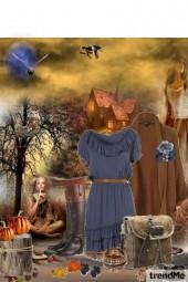 mystic blue autumn