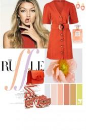 Orange colours