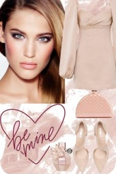 Pink tones look 2