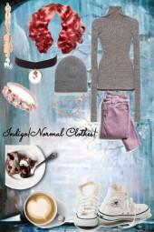 Indigo Normal Clothes