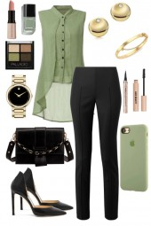 Green, Black, and Gold