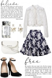 Lace and Floral