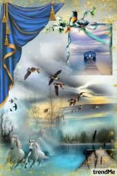 Dreams of blue 1