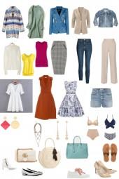 базовый гардероб на летний период