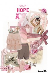 Summer touch of pink hope
