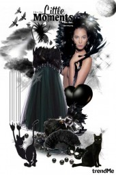 Little moments in the little black dress