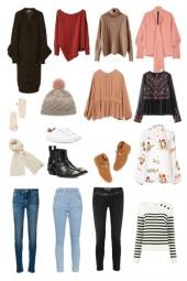 Packing list for Spain in winter
